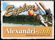 explore alexandria logo