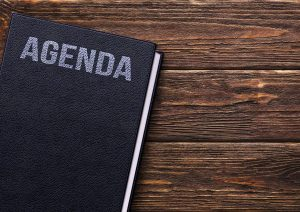 meeting agenda book